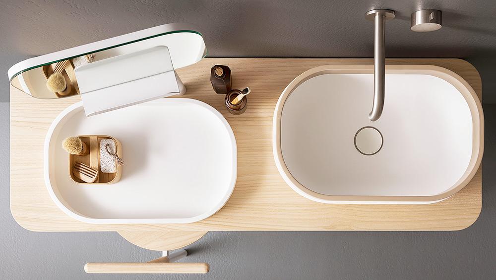 Novello mobili bagno good arredo bagno completo canestro c by