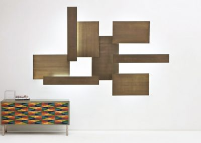 LAURA MERONI - Light Wall - Pannelli modulabili a parete